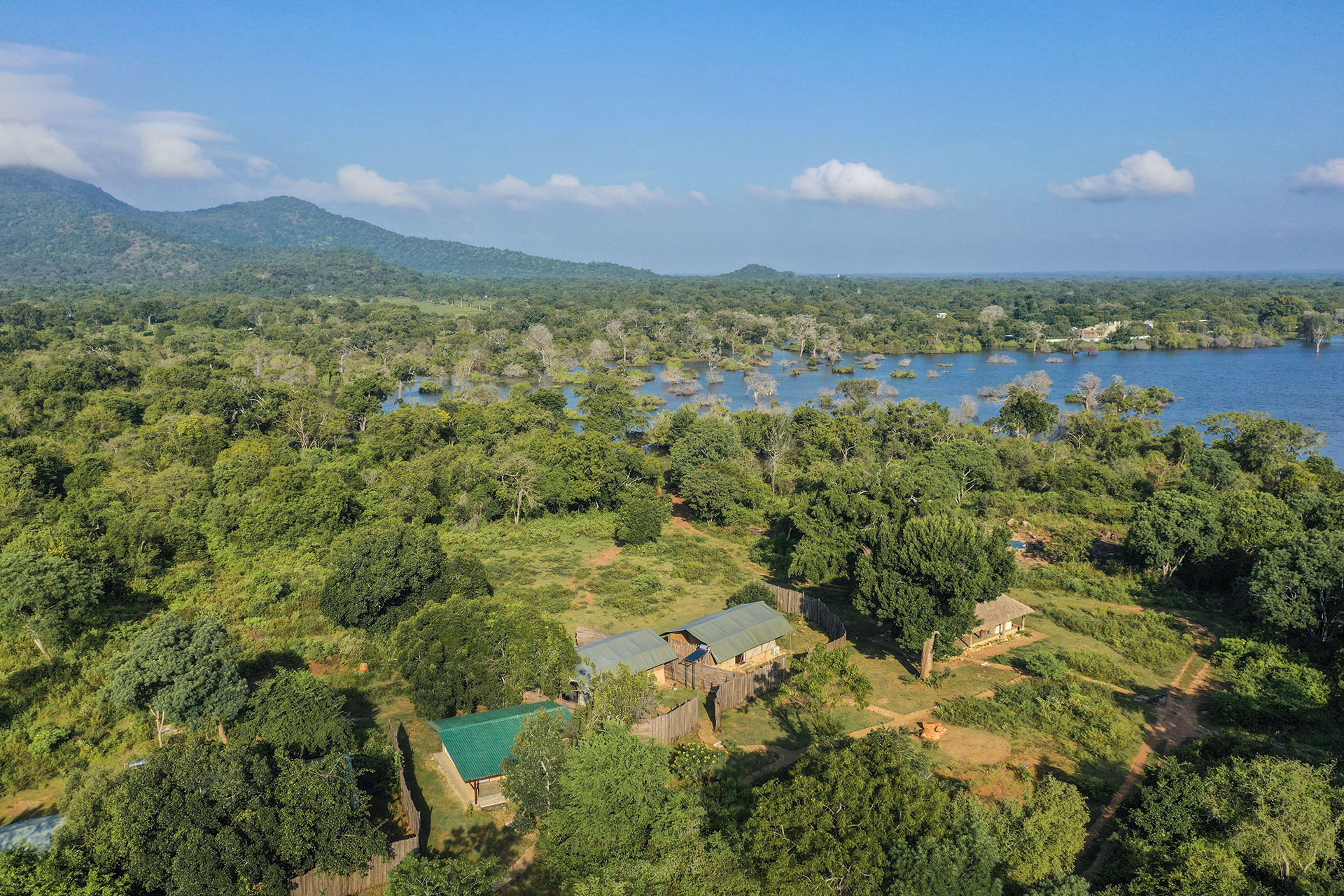 Arial View - Ceylon Wild Safaris - Camp